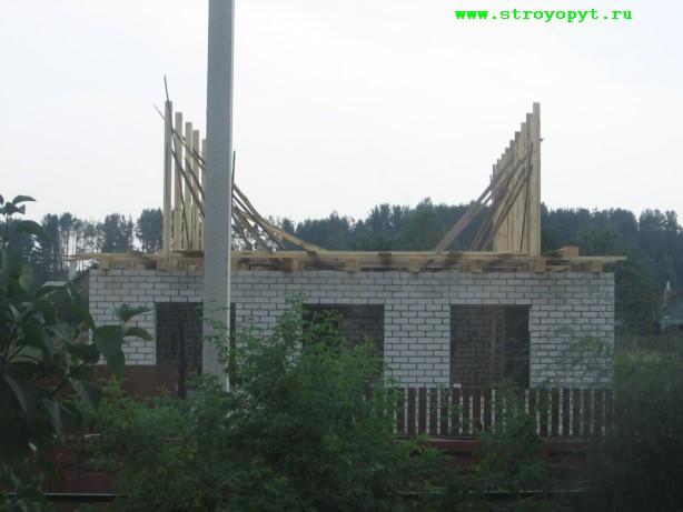 Строительство мансарды - схема.
