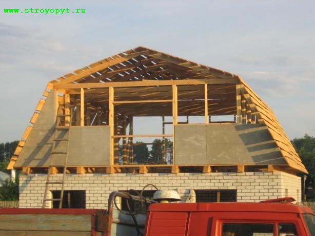 Крыши строительство своего дома