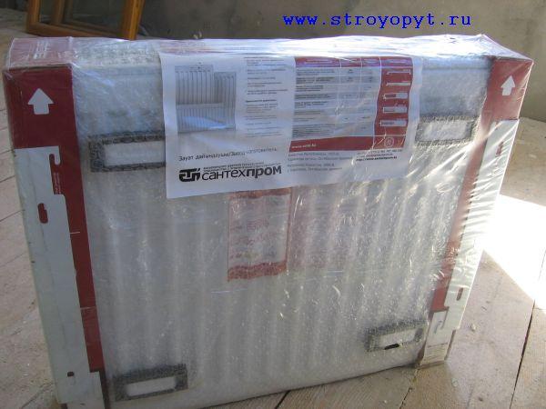 радиатор Sole, обратная сторона